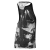 Burnout Tank Top, Black