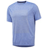 Men Reflective Tee, Blue