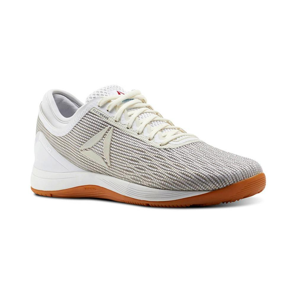 Calma Anual Especificado  Buy Reebok Crossfit Nano 8.0 Training Shoes, White/Classic White/Excellent  Red/Blue Online in Singapore | Royal Sporting House