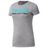Women Crossfit FEF Graphic Speedwick T-Shirt, Grey