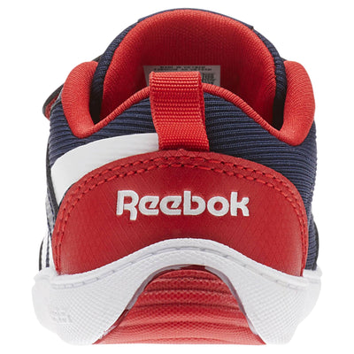Boys Ventureflex Chase Ii Sneakers, Navy/Primal Red/White