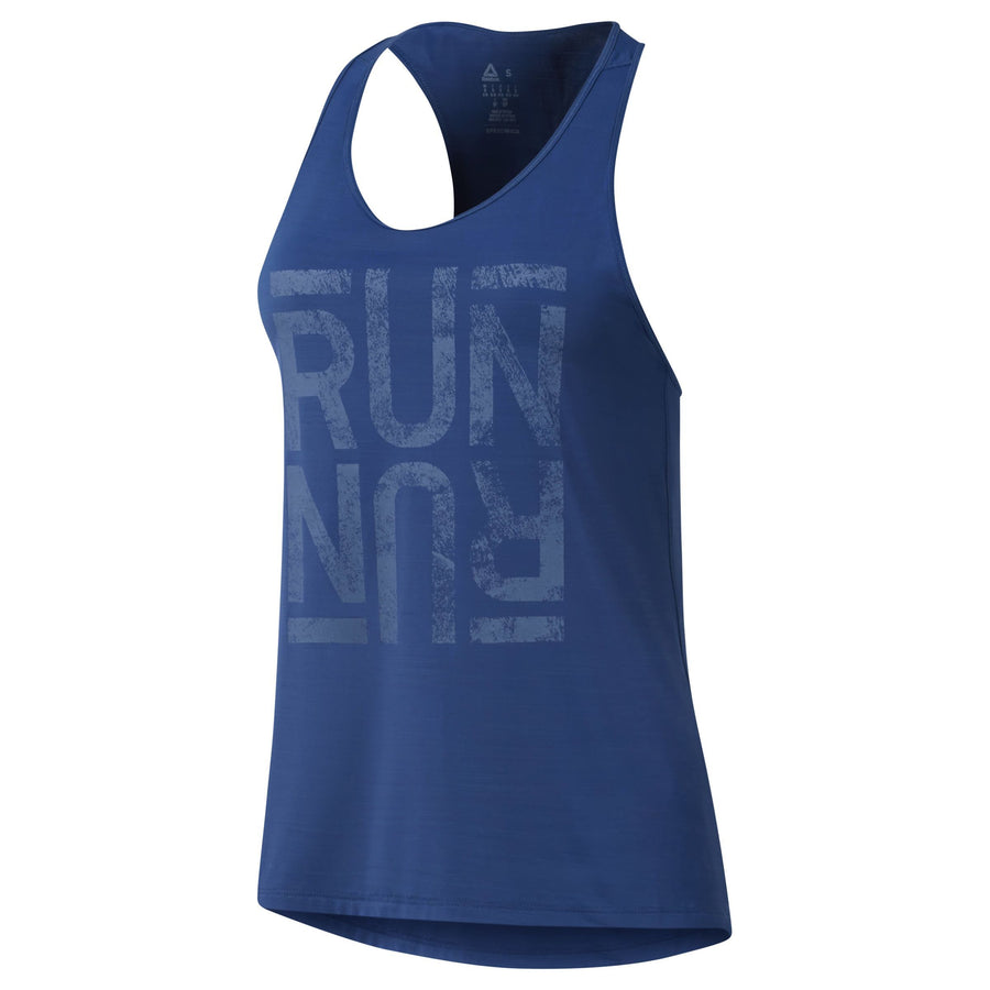 394cd0a09ab52 Singapore Reebok Women Run Activchill Graphic Tank