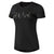 Women Shortsleeve Elevated Tee, Black