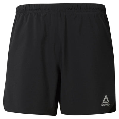 Men 2-in-1 Running Shorts, Black