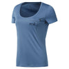 Run Graphic Short Sleeve T-Shirt, Blue Slate