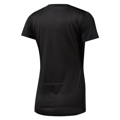 Women Run Activechill Tee, Black