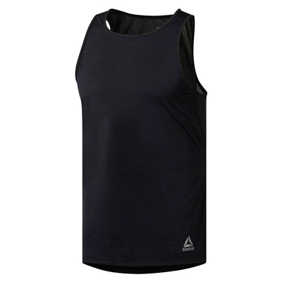 Men Activchill Singlet, Black