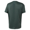 Men Run Shortsleeve Tee, Chalk Green