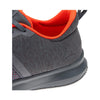 Men Print Lite Rush Running Shoes, Alloy/Coal/Atomic Red