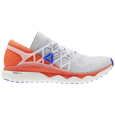 Men Floatride Run Ultraknit Running Shoe, Spirit White/Cloud Grey/Atomic Red/Blue