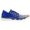 Men Floatride Run Flexweave Running Shoes, White/Blue Move/Atomic Red