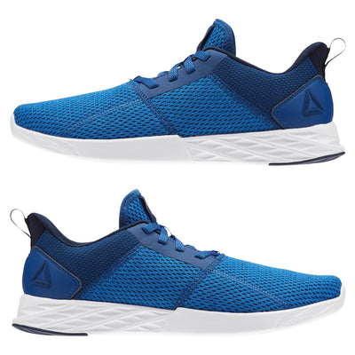 Men Astroride Strike Running Shoes, Bunker Blue/Vital Blue/Collegiate Navy/White