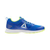 Men Ahary Runner Shoes, White/Bunker Blue/Solar Yellow