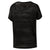 Women Burnout Tee, Black