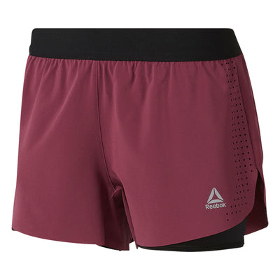 Women Epic Shorts, Twisted Berry