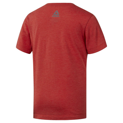 Men Train Tee Plus, Orange
