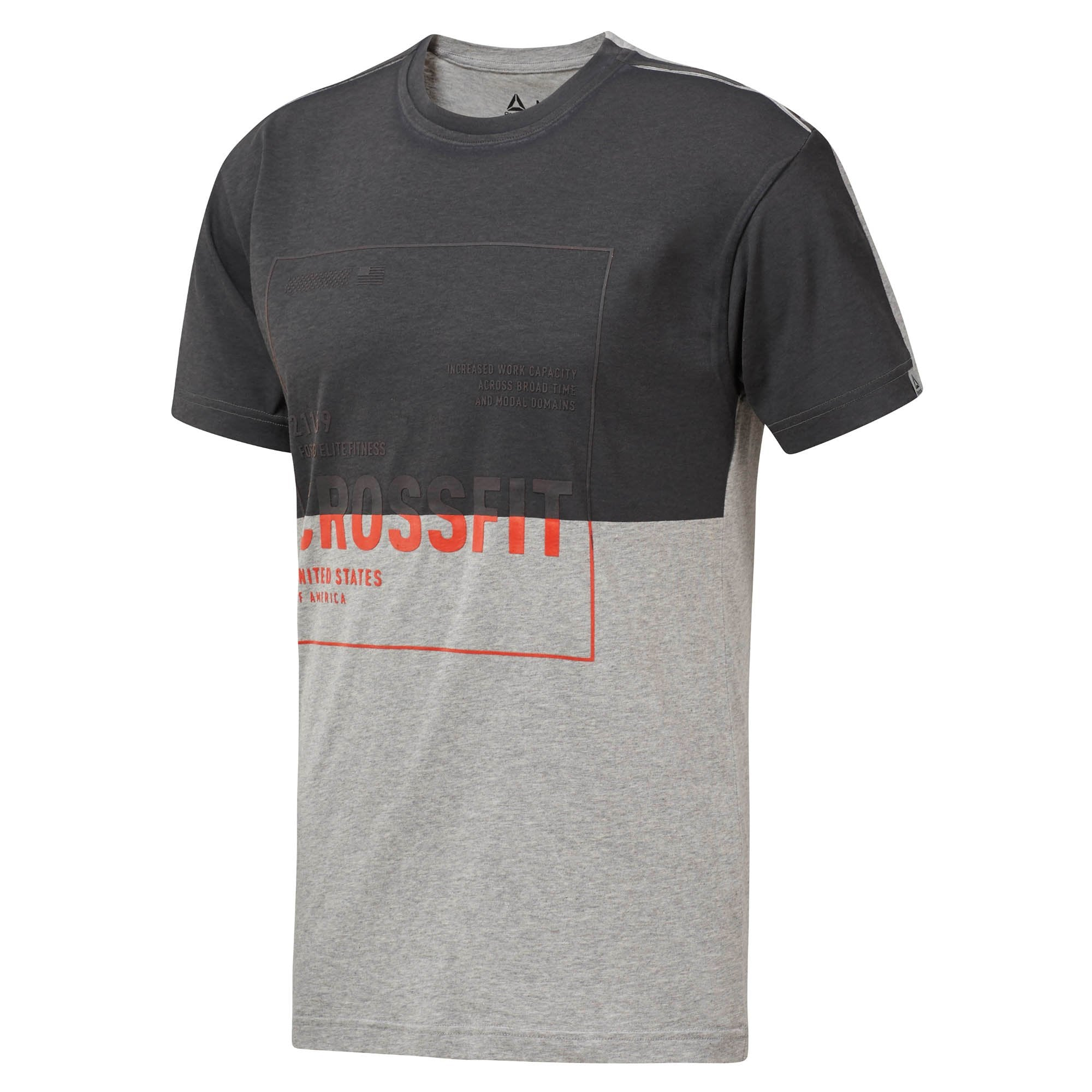 3f565a370 Buy Reebok Men Crossfit Tee, Medium Grey Heather Online in Singapore |  Royal Sporting House