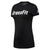 Women FEF Speedwick Crossfit Tee, Black/White