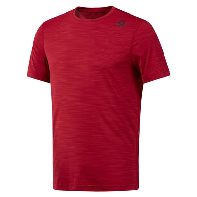 Men Workout Activchill Top, Cranberry Red