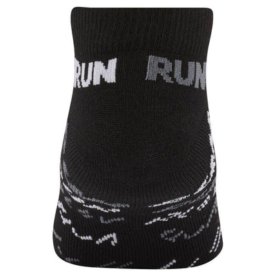 Singapore Reebok Men Running Club Sock, Black/Black/Shark