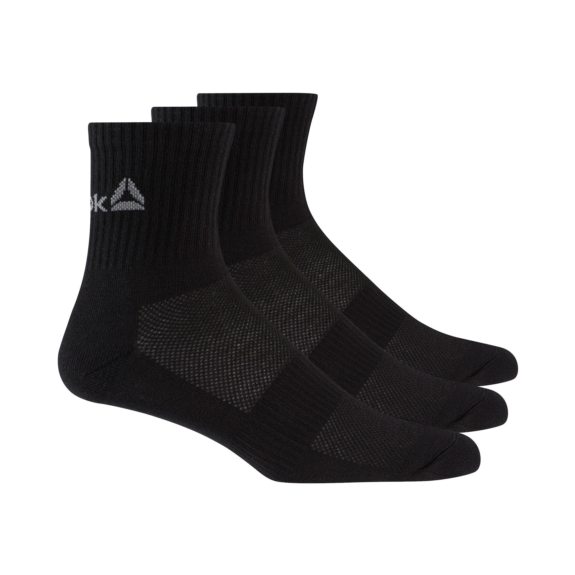 f23af5ac Buy Reebok Active Foundation Mid Crew Training Socks Black Online in  Singapore | Royal Sporting House
