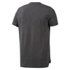 Men Workout Ready Melange Tech Top