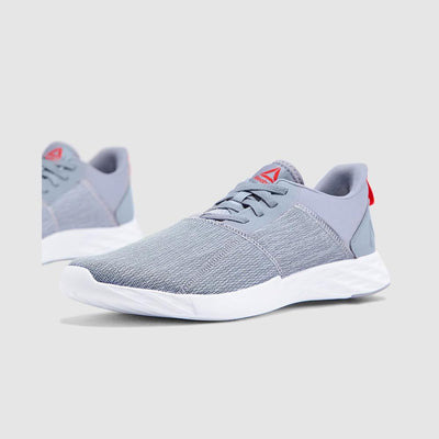Men Astroride Strike Running Shoes Cold Grey/ Primal Red/ White