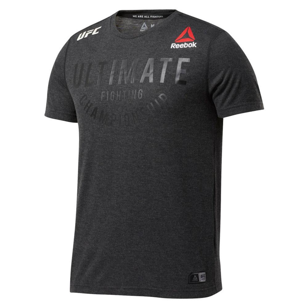 Reebok Mens UFC Fight Night Ultimate Jersey White Sports Gym Breathable