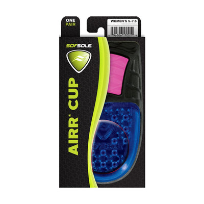 Singapore Sof Sole Women Airr Cup Insole (US OSFA)