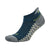 Silver No Show Running Socks, Large