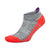 Silver No Show Running Socks, Medium