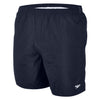 "Singapore Speedo Men Solid Leisure 16"" Swim Shorts, Speedo Navy"
