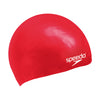 Kids Plain Moulded Silicone Cap, Red