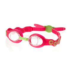 Singapore Speedo Infants Sea Squad Goggles, Red/Green
