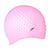 Women Bubble Cap, Pink/Blue