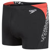 Singapore Speedo Men Boom Splice Aquashort, Black/White/Red