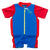 Infants Sea Squad Float Suit, Blue/Red