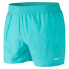 Men Fitted Leisure Swim Shorts, Green