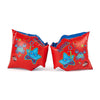 Singapore Speedo Sea Squad Armbands, Lava Red/Neon Blue
