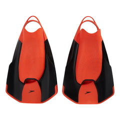 Singapore Speedo Fastskin Kick Fin, Black/Siren Red