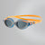 Women Futura Biofuse Flexiseal Triathlon Goggles, Fluo Orange/Stellar/Smoke