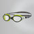 Futura Biofuse Flexiseal Goggles, Lime/USA Charcoal/Clear