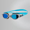 Singapore Speedo Futura Biofuse Flexiseal Mirror Goggles, USA Charcoal/Grey/Blue Mirror