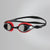 Singapore Speedo Mariner Supreme Mirror Goggles, Lava Red/Black/Chrome