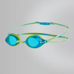 Singapore Speedo Kids Vengeance Goggles, Lime Punch/Japan Blue