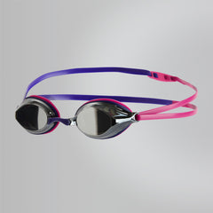 Singapore Speedo Vengeance Mirror Goggles, Ecstatic Pink/Violet/Silver