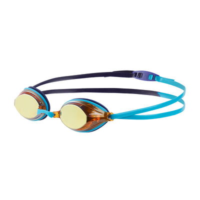 Singapore Speedo Vengeance Mirror Goggles, Turquoise/Ultramarine/Copper