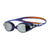 Women Virtue Mirror Goggles, Orange/Ultramarine/Silver