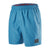 "Men Check Trim Leisure 16"" Watershorts, Stellar"