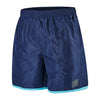 "Men Colour Block 16"" Watershorts, Navy/Turquoise"